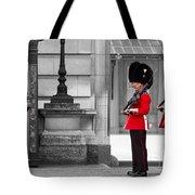 Buckingham Palace Guards Tote Bag