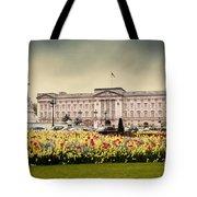 Buckingham Palace In London Uk Tote Bag