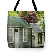 Buckingham Street Cottages Tote Bag