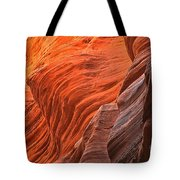 Buckskin Walls Of Fire Tote Bag