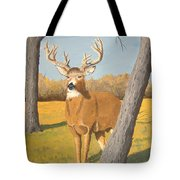 Bucky The Deer Tote Bag