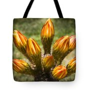 Bud Bouquet Tote Bag
