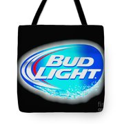 Bud Light Splash Tote Bag