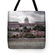 Buda Castle Facade Tote Bag