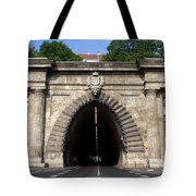 Buda Tunnel In Budapest Tote Bag