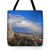 Budapest And Fisherman's Bastion Tote Bag