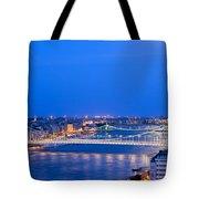 Budapest At Dusk Tote Bag