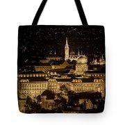 Budapest Castle Tote Bag