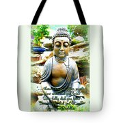 Buddha Quotes Tote Bag