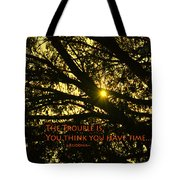 Buddha Says... Tote Bag