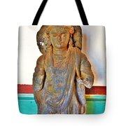 Ancient Buddha Statue - Albert Hall - Jaipur India Tote Bag