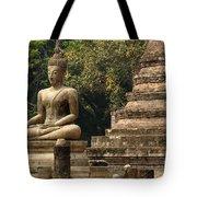 Buddha Sukhothai Thailand 6 Tote Bag