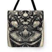 Buddha Vase Tote Bag