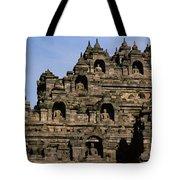 Buddhas Of Borobudur Tote Bag