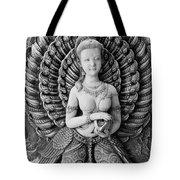 Buddhist Carving 02 Tote Bag