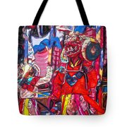 Buddhist Dancers 2 Tote Bag