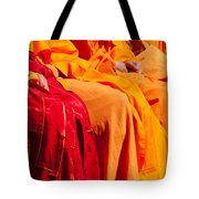 Buddhist Monks 04 Tote Bag by Rick Piper Photography