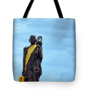 Buddhist Statue Tote Bag
