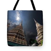 Buddhist Temple In Bangkok Thailand Buddhism Wat Phra Keo Tote Bag