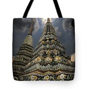 Buddhist Temple In Bangkok Thailand Buddhism Wat Po Tote Bag