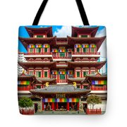 Buddhist Temple In Singapore Tote Bag