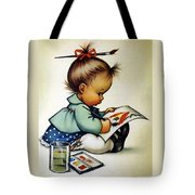 Budding Genius Tote Bag by Charlotte Byj