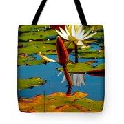 Budding Lilies Tote Bag