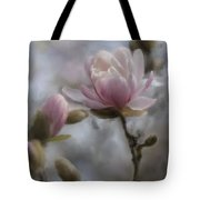 Budding Magnolia Branch Tote Bag