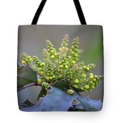 Budding Mahonia Tote Bag