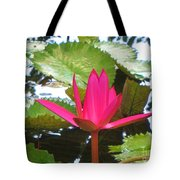 Budding Majesty  Tote Bag