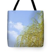 Budding Willow Tote Bag by Tom Gowanlock