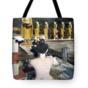 Buddist Shrine Tote Bag