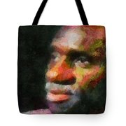 Buddy In Thought Tote Bag