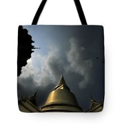 Budhist Temple In Bangkok Thailand Tote Bag