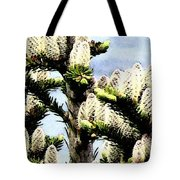Buds 2 Abstraction Tote Bag