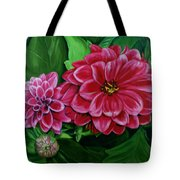 Buds And Blossoms Tote Bag