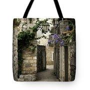 Budva Old Town Street Montenegro Tote Bag
