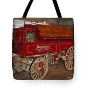 Budweiser Anheuser Busch Wagon Tote Bag