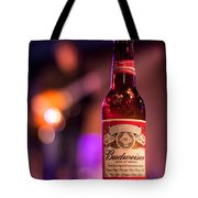 Budweiser Blues Tote Bag