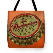 Budweiser Cap Tote Bag by Tony Rubino