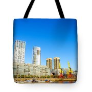 Buenos Aires Waterfront Tote Bag