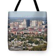 Buffalo And Niagara Falls Skylines Tote Bag