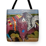 Buffalo Artwork Tote Bag