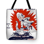 Buffalo Bills 1962 Program Tote Bag