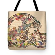 Buffalo Bills Vintage Art Tote Bag