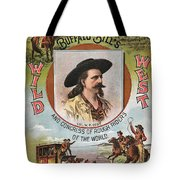 Buffalo Bills Wild West Tote Bag by Unknown