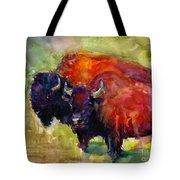 Buffalo Bisons Painting Tote Bag