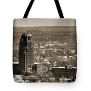 Buffalo Central Terminal Winter 2013 Tote Bag