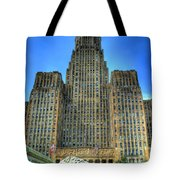 Buffalo City Hall Tote Bag by Tammy Wetzel