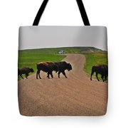 Buffalo Crossing Tote Bag